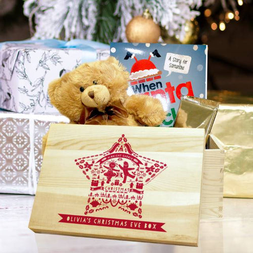 Personalised In The Night Garden Star Christmas Eve Box