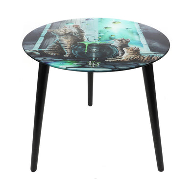 'Hubble Bubble' Small Glass Table by Lisa Parker
