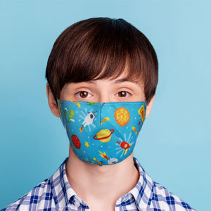 Outer Space Face Mask (Small - Child)