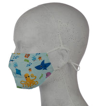 Under the Sea Reusable Face Mask (Small - Child)