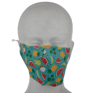 Tropical Fruit Reusable Face Mask (Large - Adult)
