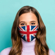 Union (Jack) Flag Reusable Face Mask (Large - Adult)