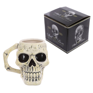Ancient Skull Head Halloween Mug