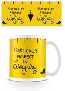 Mary Poppins 'Practically Perfect' Mug