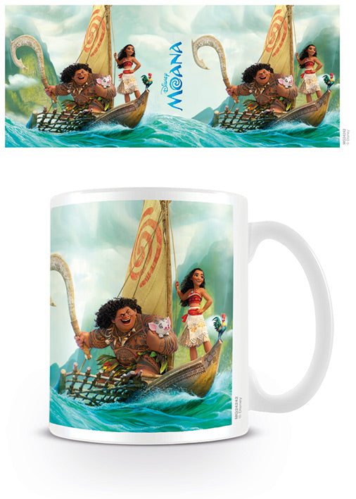 Moana: Boat and Characters Mug