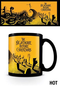 Nightmare Before Christmas: Graveyard Scene Heat Changing Mug
