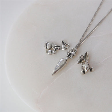 Sterling Silver Easter (Bunny) Necklace