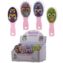 Cute and Colourful Childrens Owl Small Hair Brush