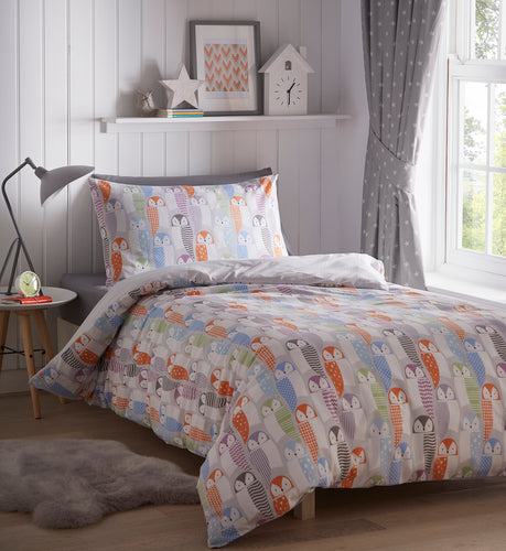 Owls Duvet Cover Set