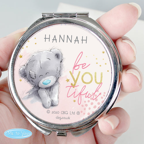 Personalised 'Me To You' Be-You-Tiful Compact Mirror