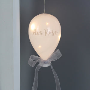 Personalised LED Glass Balloon - Great Decoration for Parties.