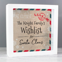 Personalised Christmas Wishes, Lists and Letters for Santa Keepsake Box