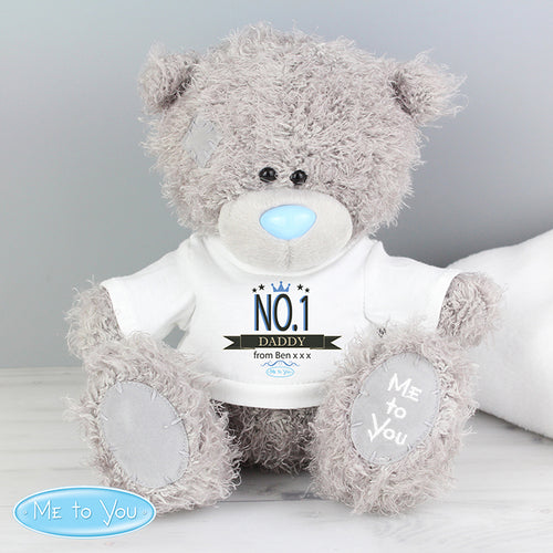 Personalised Me to You Bear with No.1 T-Shirt