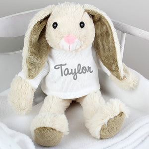 Personalised Soft Toy Bunny