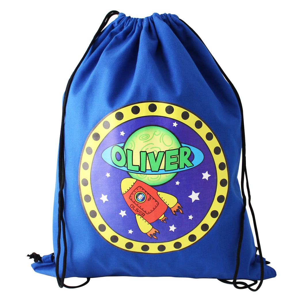Personalised Space Swim and Gym Bag