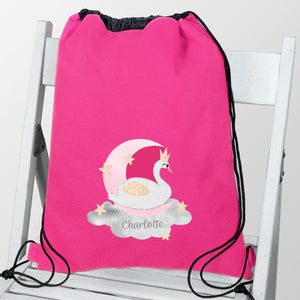 Personalised Swan Lake Swim / Gym / Kit Bag