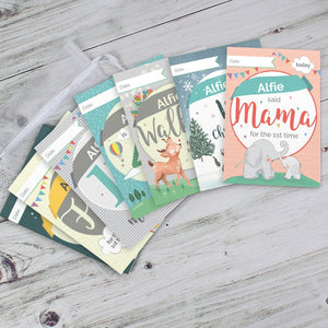 Personalised Baby Cards: For Milestone Moments