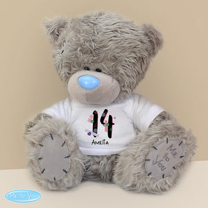 Personalised Me to You Bear with Any Age T-Shirt