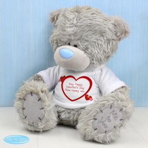 Personalised Me to You Bear with Hearts T-Shirt - Perfect for Valentine's, Birthday's and Anniversaries