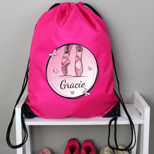 Personalised Ballet Gym / Kit Bag