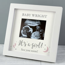 Personalised 'It's A Boy' or 'It's A Girl' 4 x 3 Baby Scan Frame