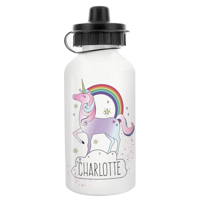 Personalised Unicorn Water / Drink Bottle