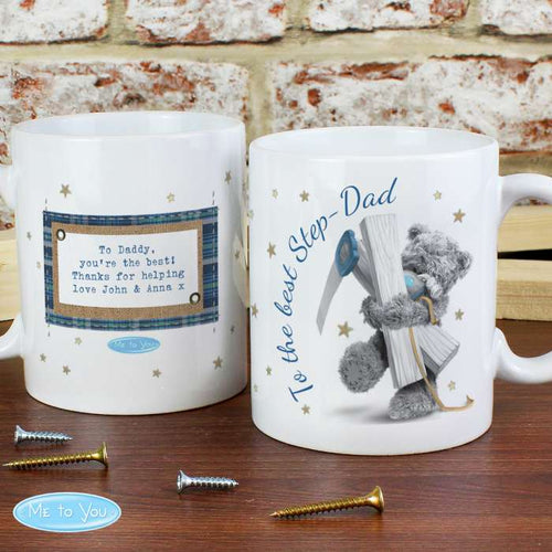 Personalised Me To You DIY Bear Mug - perfect for Father's, Step Father's and Grandad's alike