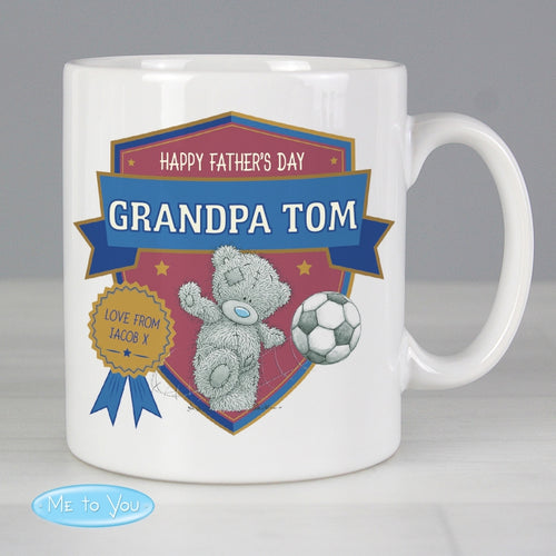 Personalised Me to You Football Mug - perfect for Father's Step Father's and Grandad's alike