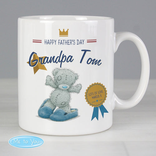 Personalised Me to You Slippers Mug - perfect for Father's Step Father's and Grandad's alike