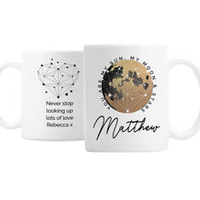 Personalised You Are My Sun My Moon Mug - Great gift for Valentine's Day, Birthdays, Anniversaries etc.