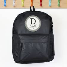 Personalised Star Name Backpack - Available in Black, Blue and Pink