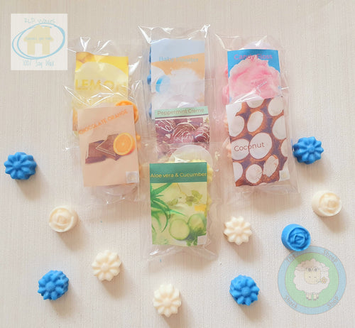 RLP 100% Soy Wax Melt - Flower Shapes - Several Scents Available