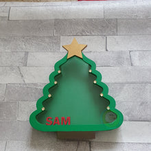 Customisable Wooden Christmas Tree (Chocolate) Holder - can be Personalised