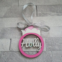 Personalised and Customisable Christmas Elf Hanging Decoration