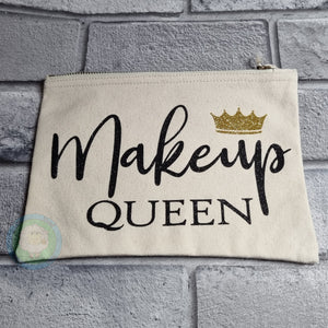 'Makeup Queen' Make Up Bag - Sample Version
