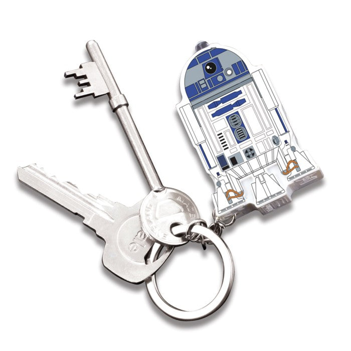 Star Wars R2-D2 Keyring - with bonus Torch and Sound Effects