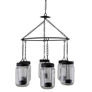 Chandelier Style Hanging Tea Light Holder