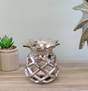 Pineapple Tealight Holder - Gold or Silver