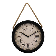 Small Rustic Wall Hanging Clock (14.5cm)