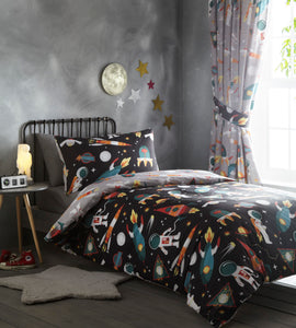 Spaceman Duvet Cover Set - Single Only