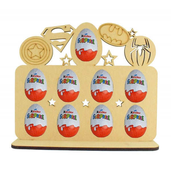 Superhero Kinder Egg Holder - Perfect for Easter...or Just Because!!! (Chocs not. inc.)