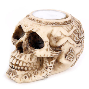 Skull Tealight Holder - A MUST HAVE Halloween Decoration