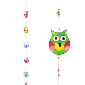 String of Owls Suncatcher