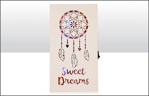 Sweet Dreams Painted LED Sign
