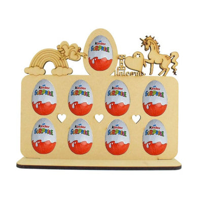 Unicorn Themed Kinder Egg Holder - Perfect for Easter...or Just Because!!! (Chocs not inc.)
