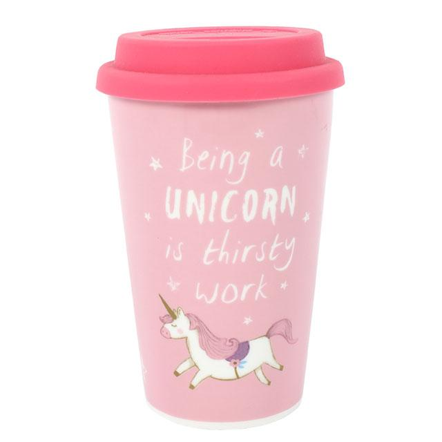 Unicorn Thermal Travel Mug