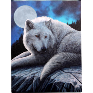 'Guardian of the North' Canvas Plaque by Lisa Parker - 19 x 25cm