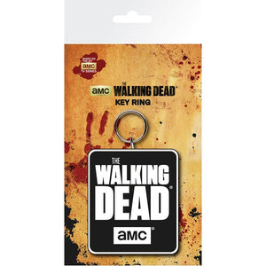 The Walking Dead Logo Keyring
