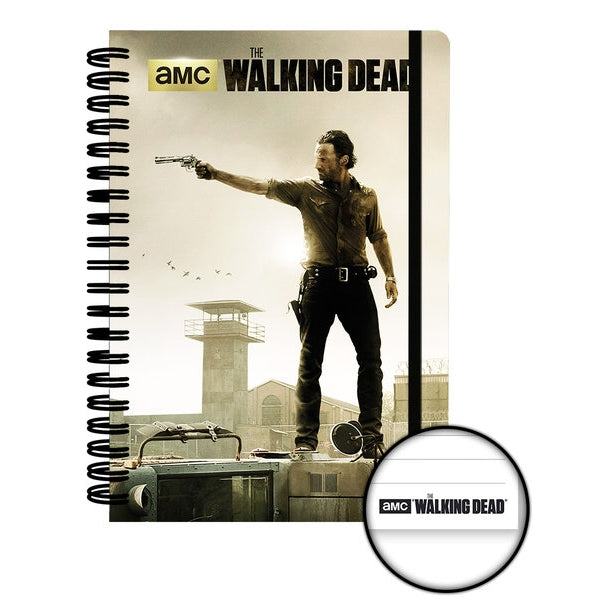 The Walking Dead A5 Prison Notebook