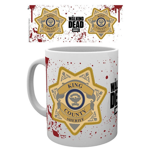 Walking Dead - Sheriff Badge Mug